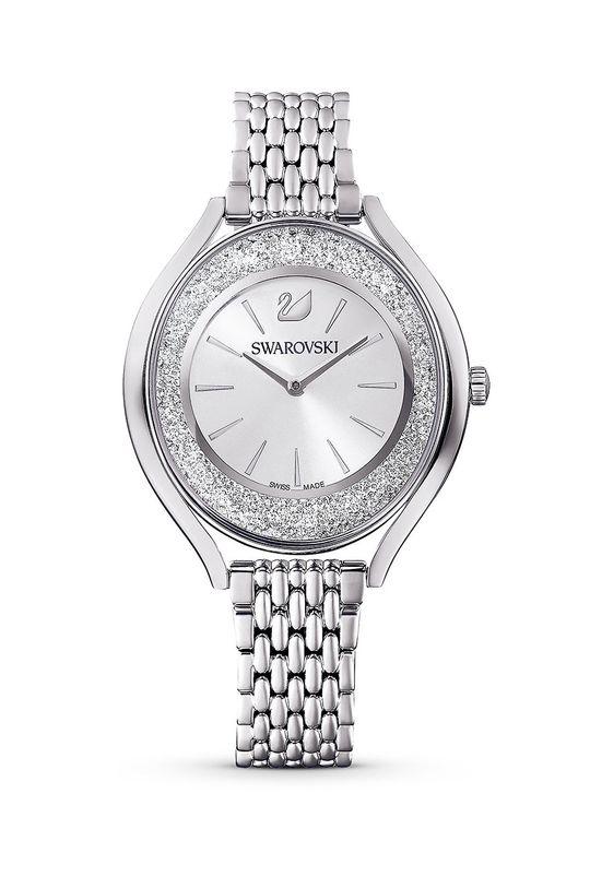 srebrny Swarovski - Zegarek 5519462 Damski