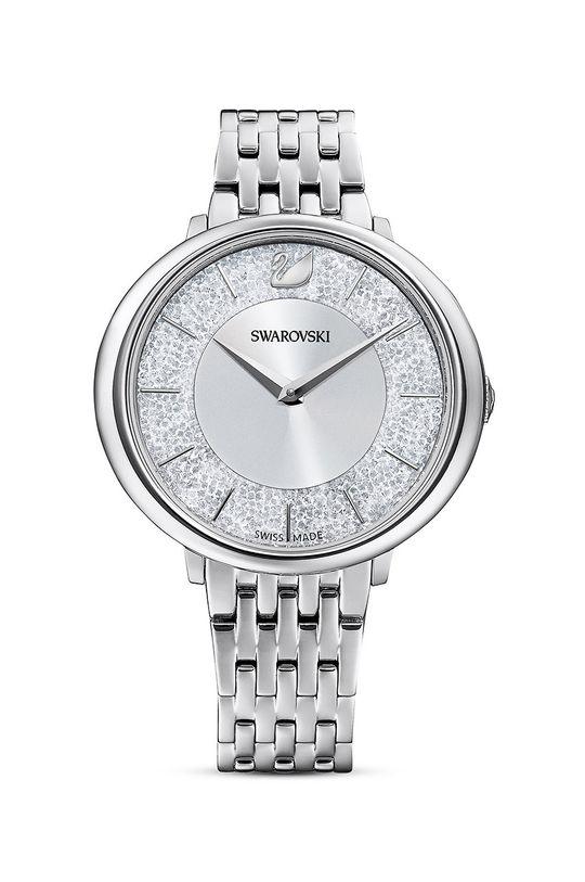 srebrny Swarovski - Zegarek 5544583 Damski