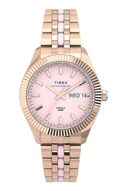 różowy Timex - Zegarek TW2U82800 Damski
