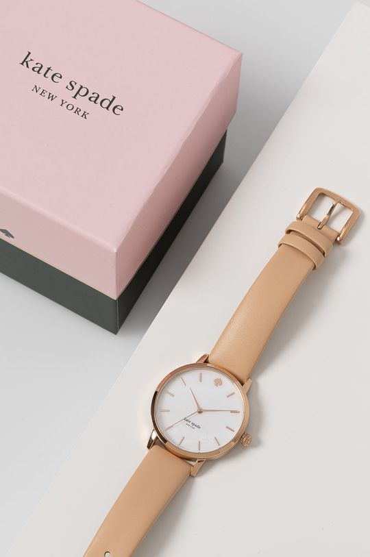 Kate Spade - Zegarek beżowy