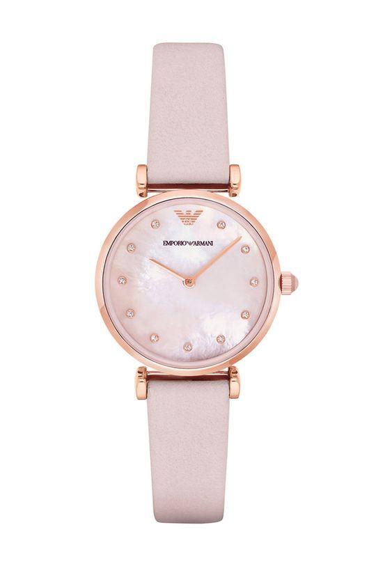 różowy Emporio Armani - Zegarek AR1958 Damski