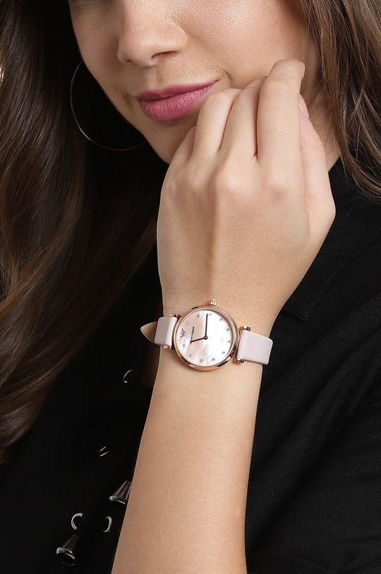 różowy Emporio Armani - Zegarek AR1958