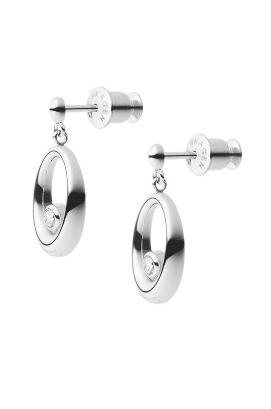 Skagen - Kolczyki srebrny
