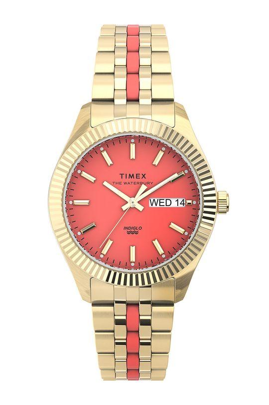 złoty Timex - Zegarek TW2U82700 Damski