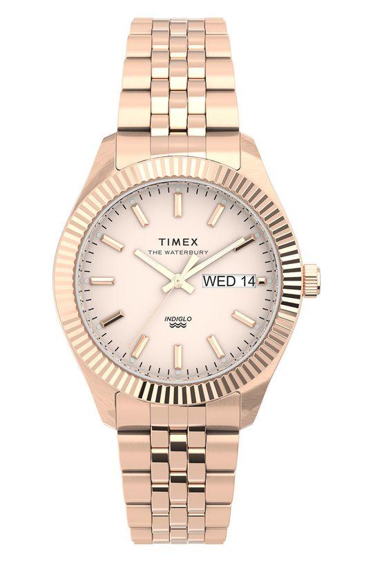 złoty Timex - Zegarek TW2U78400 Damski