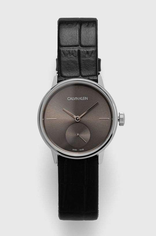 czarny Calvin Klein - Zegarek K2Y231C3 Damski