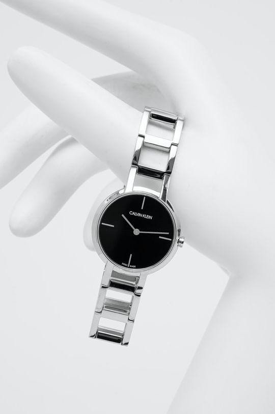srebrny Calvin Klein - Zegarek K8N23141 Damski