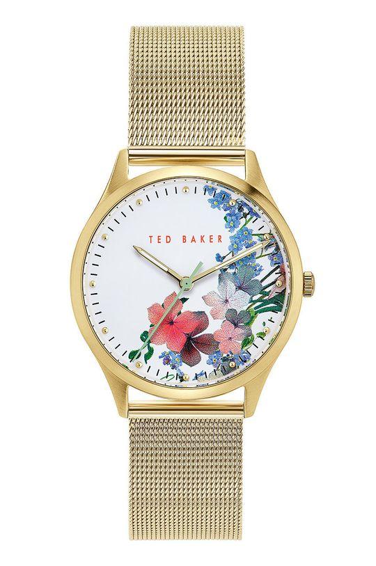 złoty Ted Baker - Zegarek BKPBGS007 Damski