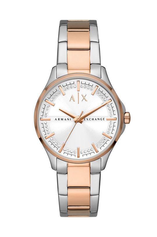 złoty Armani Exchange - Zegarek AX5258 Damski