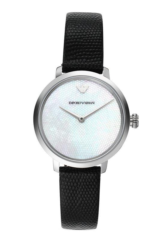 czarny Emporio Armani - Zegarek AR11159 Damski
