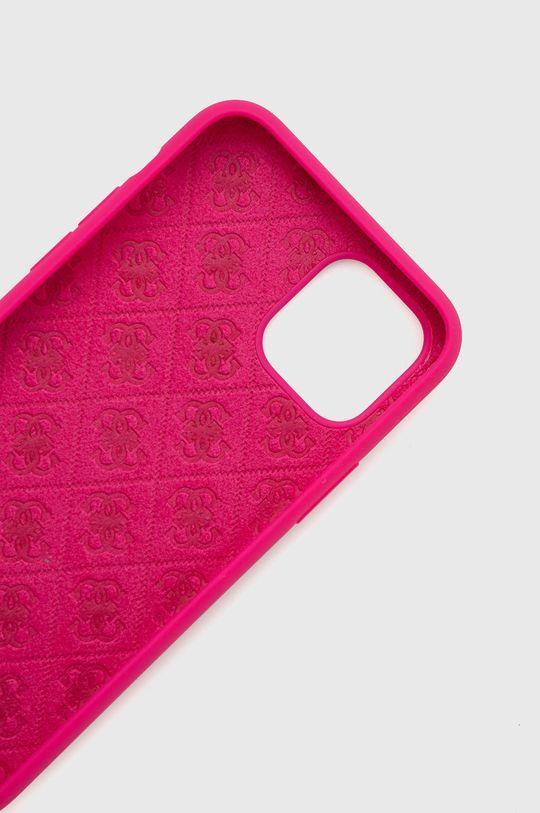 Guess - Etui na telefon iPhone 11 Pro fuksja