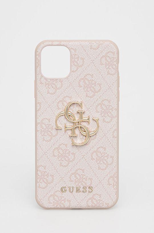 różowy Guess - Etui na telefon iPhone 11ProMax Damski