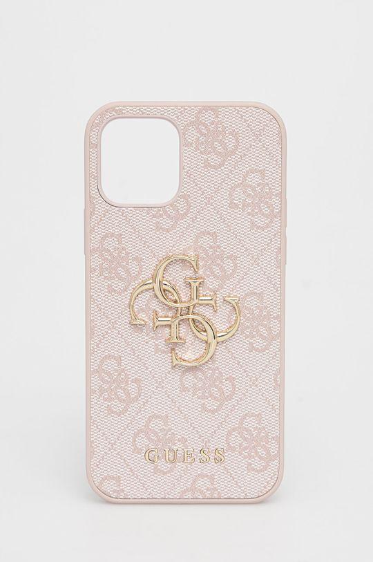 różowy Guess - Etui na telefon iPhone 12/12 Pro Damski