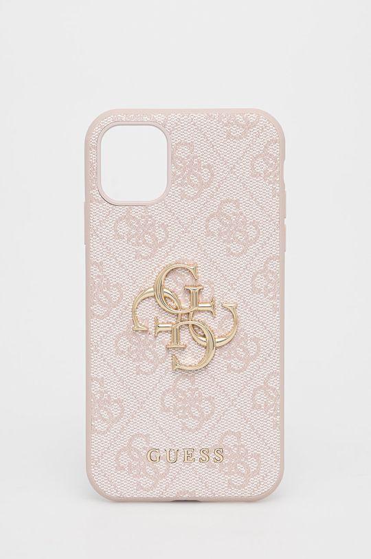 różowy Guess - Etui na telefon iPhone 11 Damski