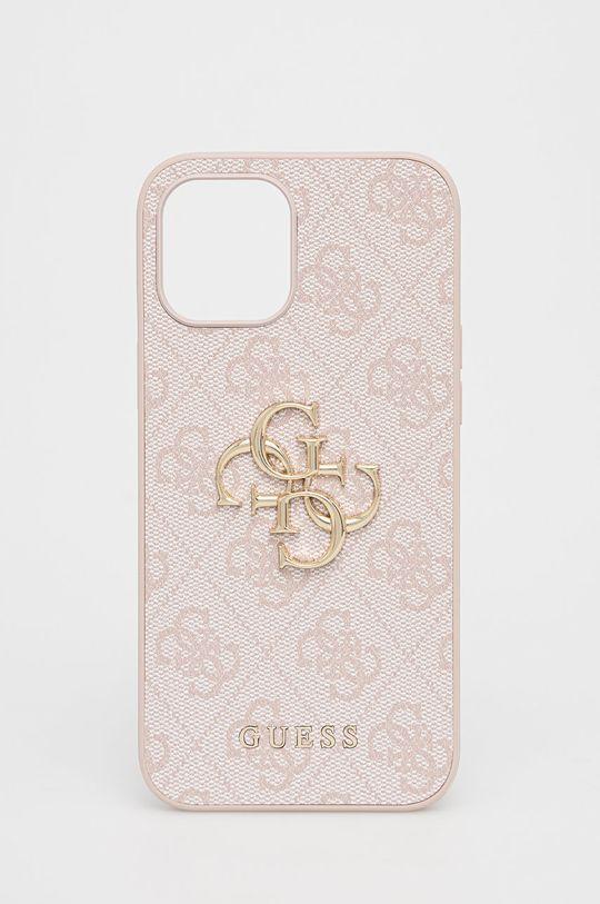 różowy Guess - Etui na telefon iPhone 12 Pro Max Damski