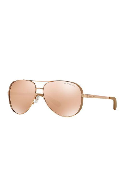 pastelowy różowy Michael Kors - Okulary MK5004.1017R1 Damski