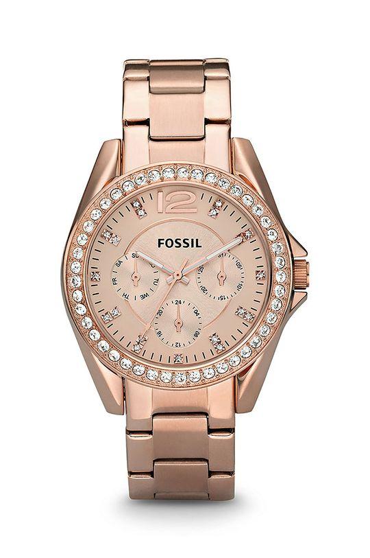 zlatá Fossil - Hodinky ES2811 Dámský