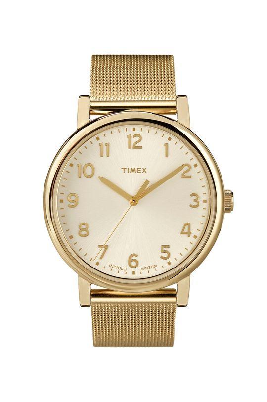 zlatá Timex - Hodinky T2N598 Dámský