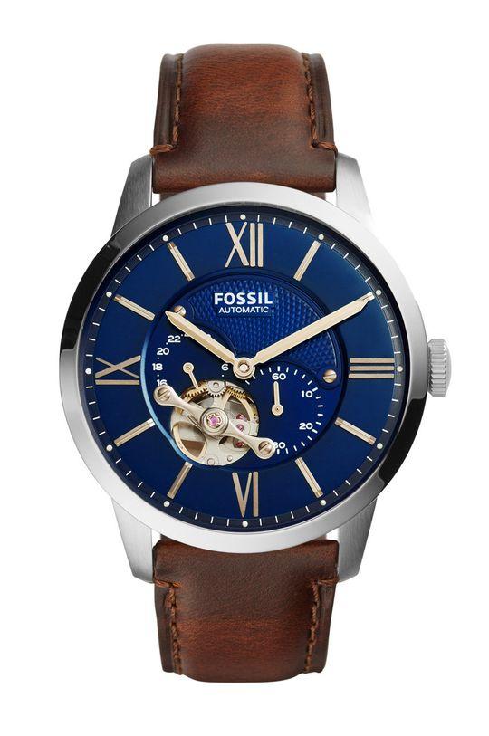 brązowy Fossil - Zegarek ME3110 Męski