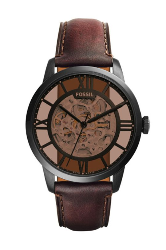 темно-коричневий Fossil - Годинник ME3098 Чоловічий