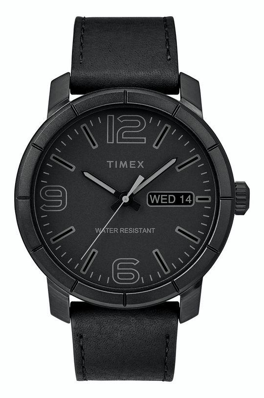 čierna Timex - Hodinky Pánsky