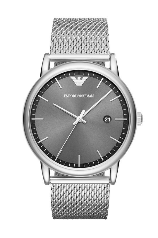argintiu Emporio Armani - Ceas AR11069 De bărbați