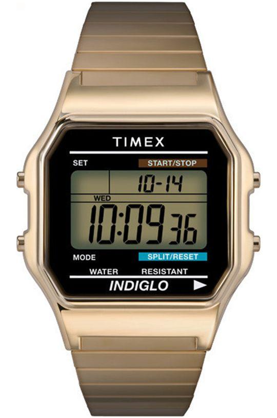 золотий Timex - Годинник T78677 Чоловічий