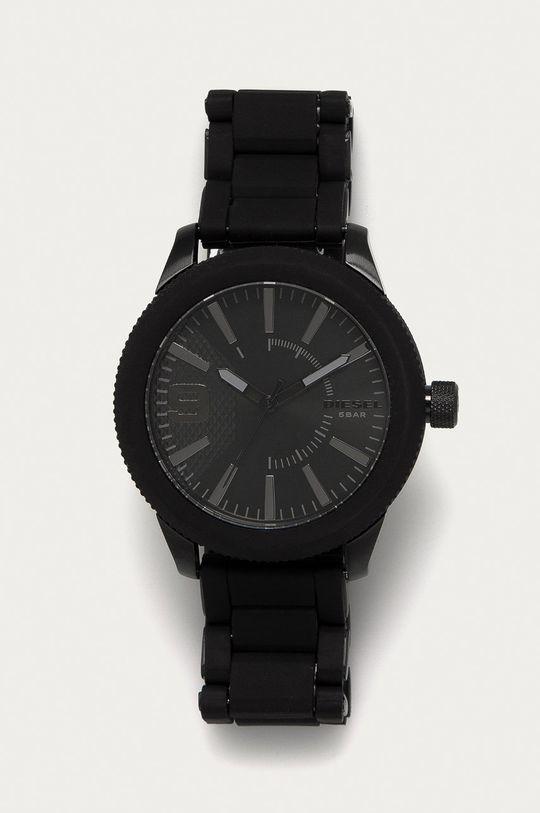czarny Diesel - Zegarek DZ1873 Męski