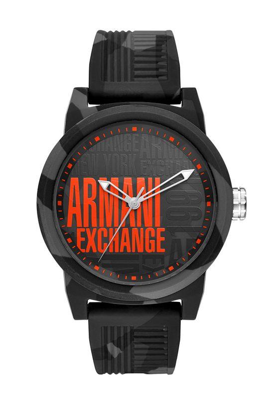 čierna Armani Exchange - Hodinky Pánsky