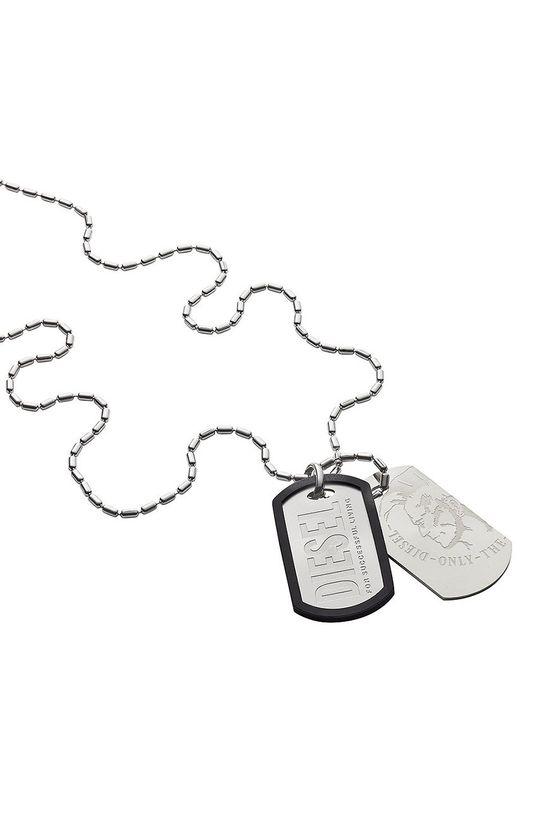 stříbrná Diesel - Náhrdelník Pánský