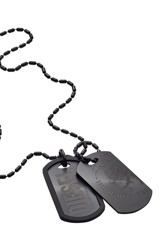 černá Diesel - Náhrdelník Pánský