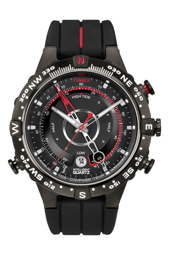 černá Timex - Hodinky T2N720 Pánský