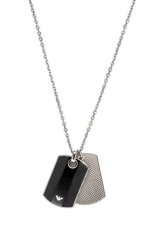 stříbrná Emporio Armani - Náhrdelník Pánský