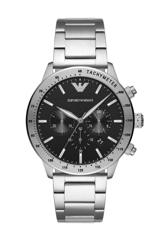 срібний Emporio Armani - Годинник Чоловічий