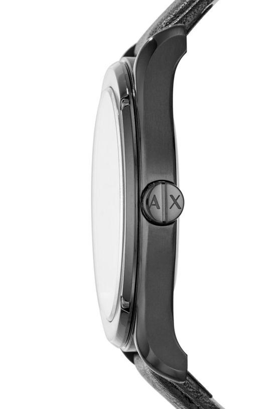 Armani Exchange - Hodinky AX2805  Prírodná koža, Ušľachtilá oceľ, Minerálne sklo