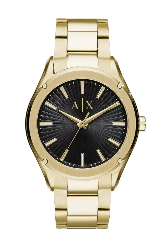 złoty Armani Exchange - Zegarek AX2801 Męski