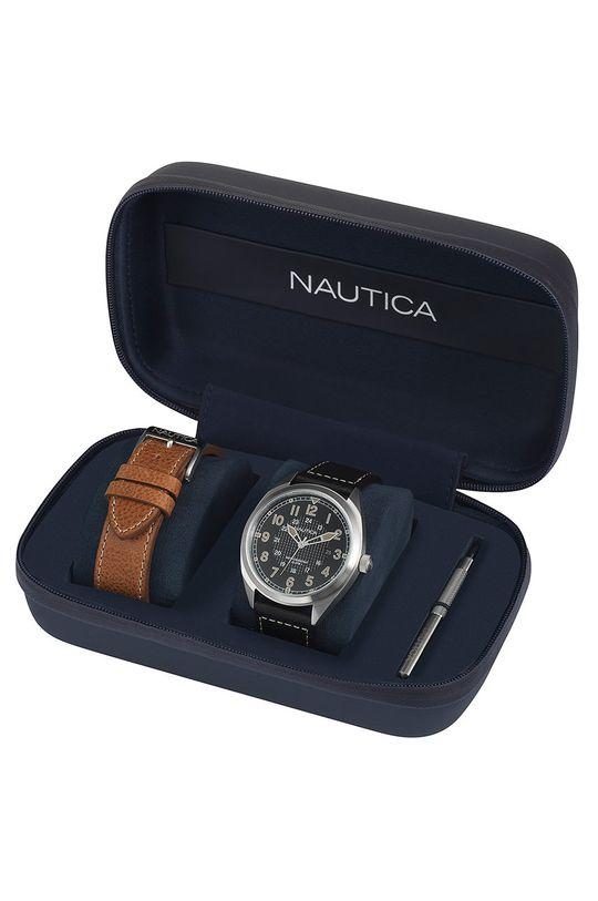 černá Nautica - Hodinky NAPBTP006