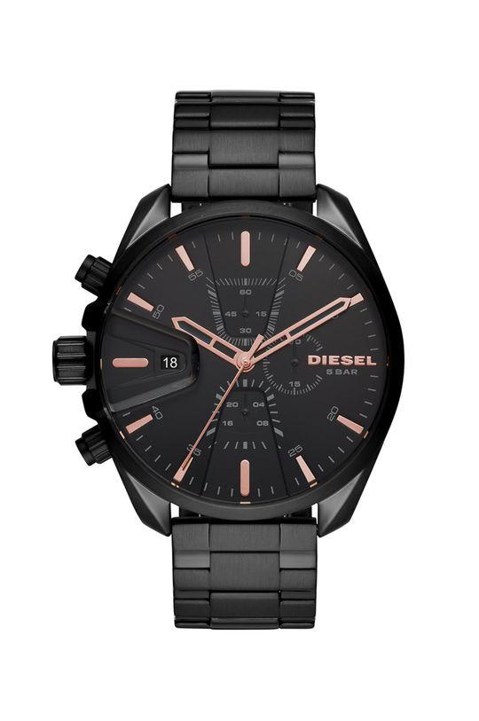 czarny Diesel - Zegarek DZ4524 Męski