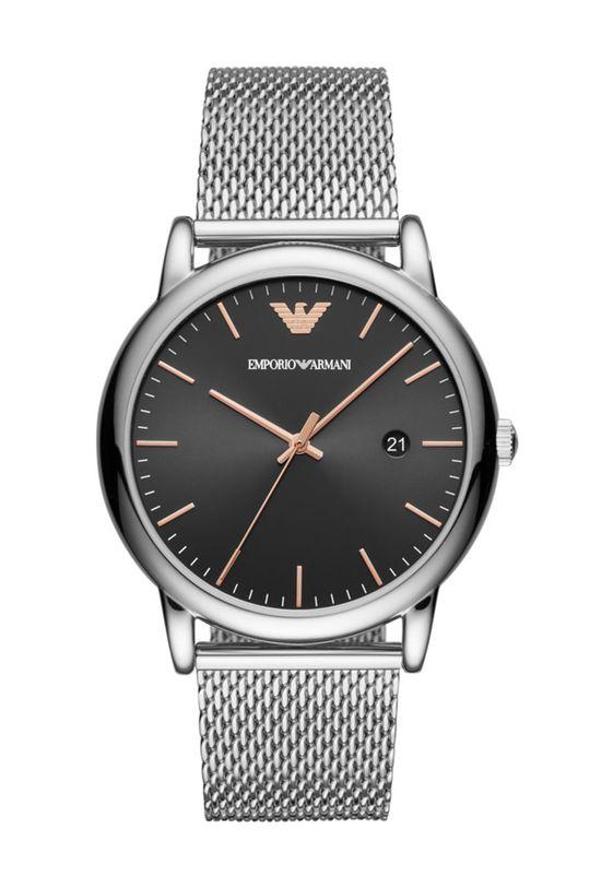 argintiu Emporio Armani - Ceas AR11272 De bărbați