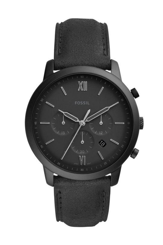 negru Fossil - Ceas FS5503 De bărbați