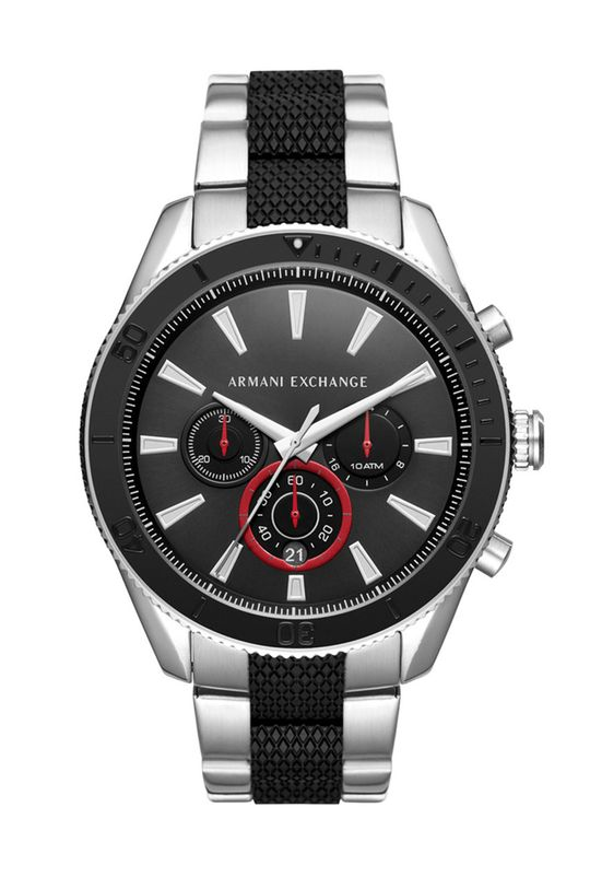 czarny Armani Exchange - Zegarek AX1813 Męski