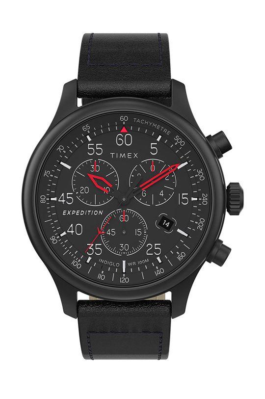 čierna Timex - Hodinky TW2T73000 Pánsky