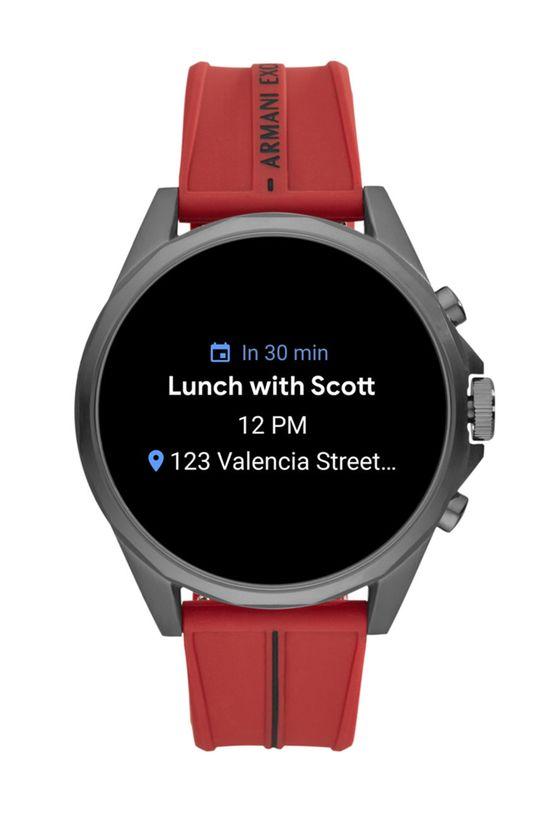 czerwony Armani Exchange - Smartwatch AXT2006