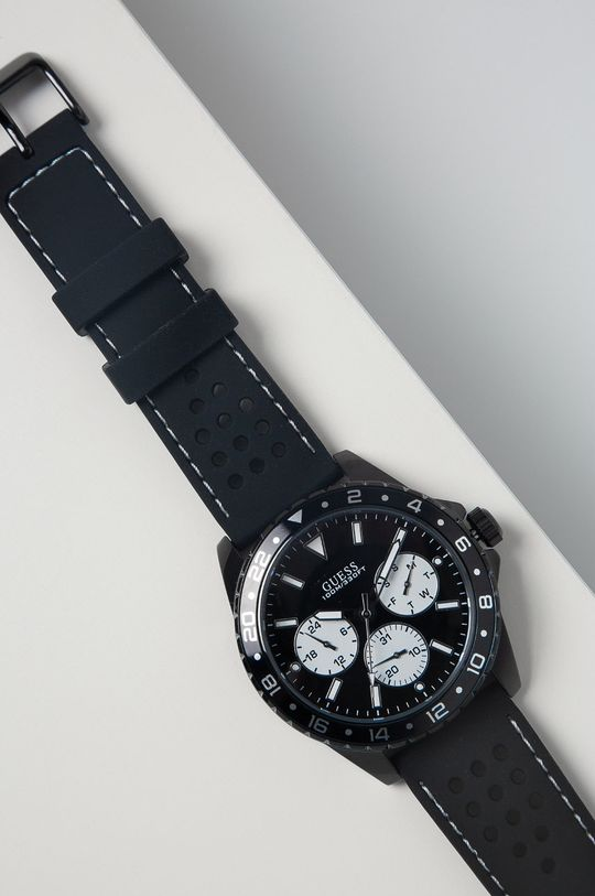 Guess Jeans - Zegarek W1108G3 czarny