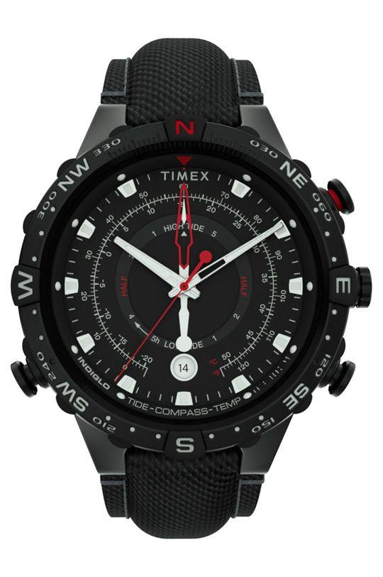 czarny Timex - Zegarek TW2T76400 Męski