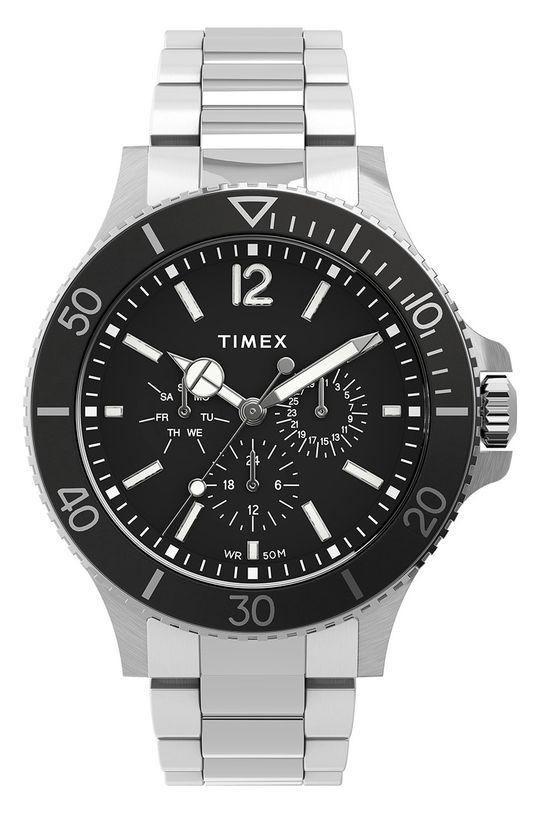 stříbrná Timex - Hodinky TW2U13100 Pánský