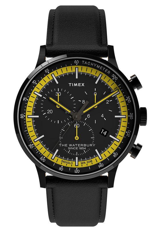 černá Timex - Hodinky TW2U04800 Pánský