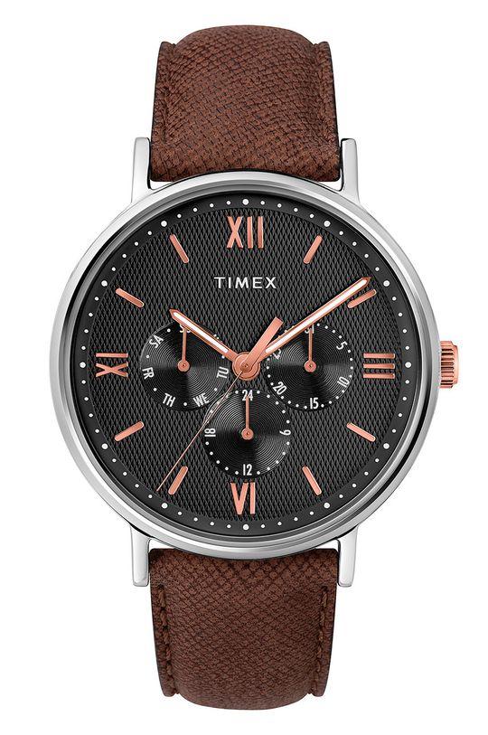 коричневий Timex - Годинник TW2T35000 Чоловічий