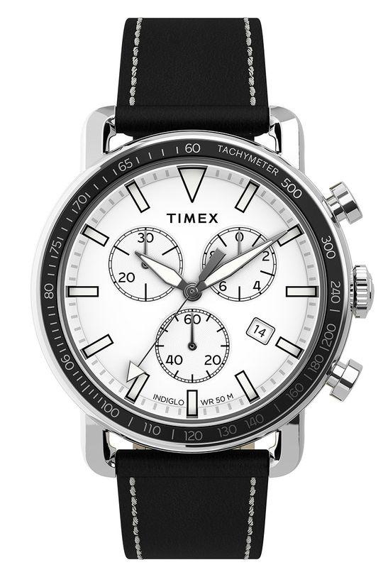 černá Timex - Hodinky TW2U02200 Pánský