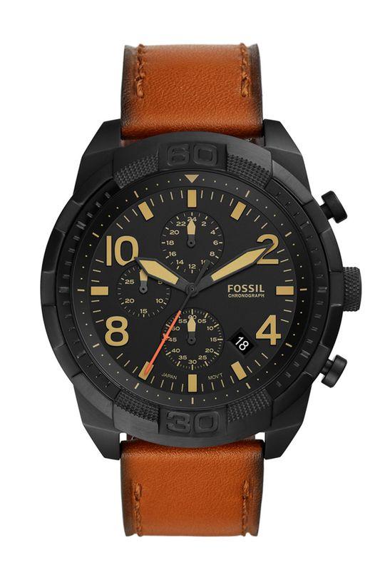 коричневий Fossil - Годинник FS5714 Чоловічий
